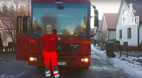 Lastbilschaufför